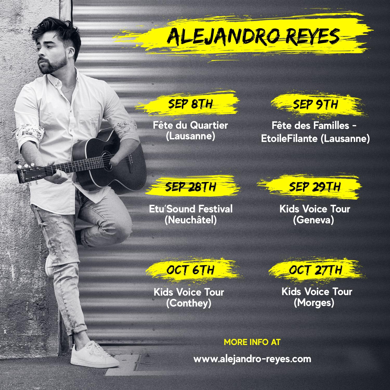 Alejandro Reyes events