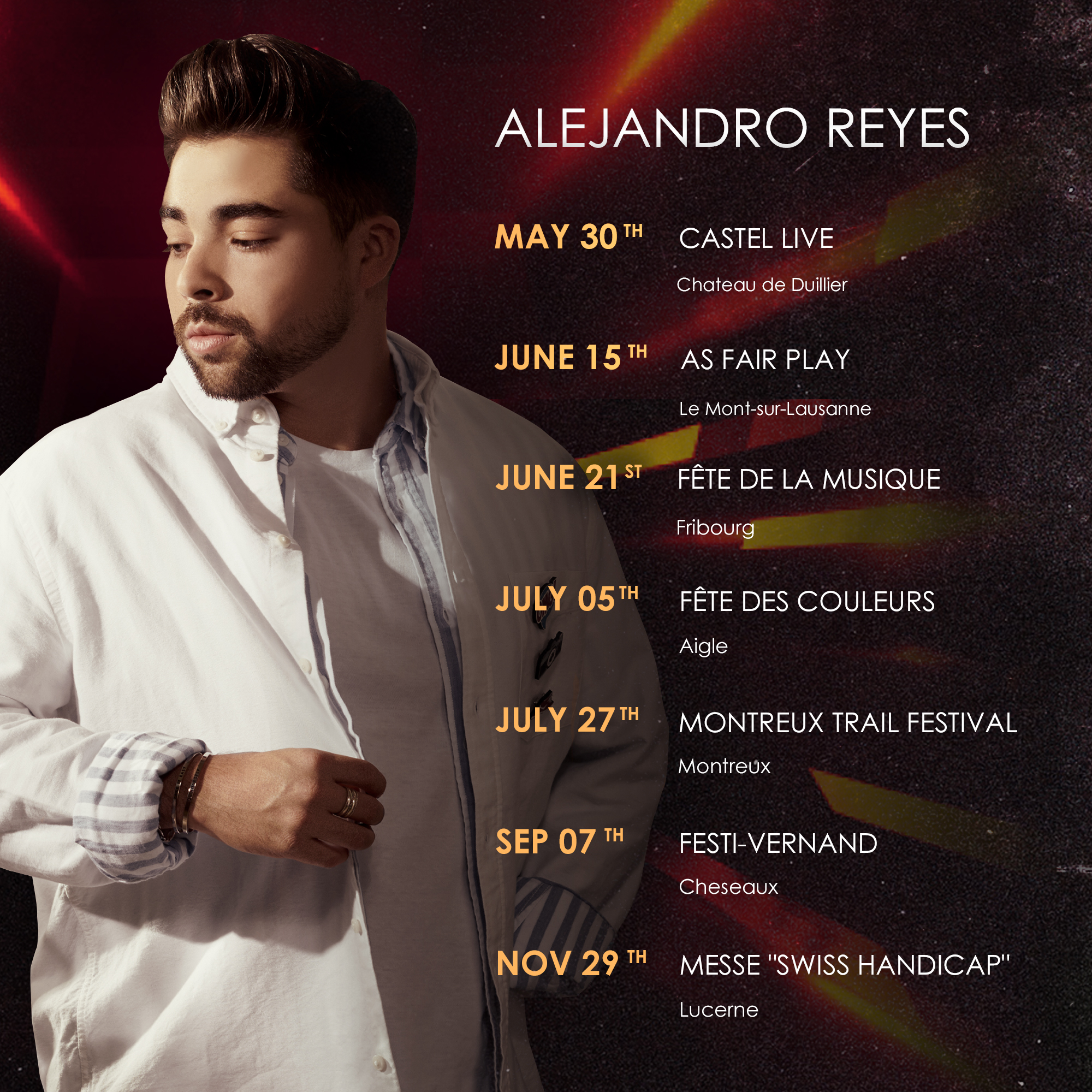 Alejandro Reyes events